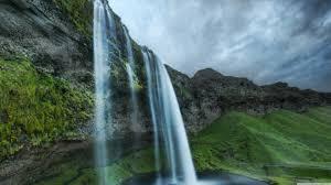 Beautiful Waterfall In Iceland Ultra HD ...