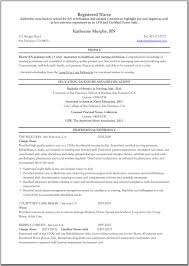 resume for charge nurse