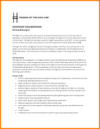 Groundskeeper Resume Example Groundskeeper Sample Resumes shalomhouseus 2