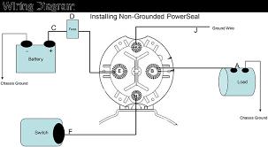 noco shop 100a dc contactor model trombetta 12v 24v 36v trombetta powerseal dc contactor wiring diagram