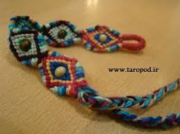 Image result for مدل دستبند بافت