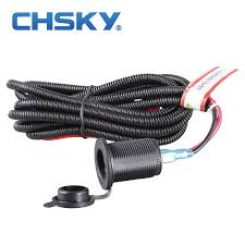 compare prices on wire harness accessories online shopping buy 1 set universal12v car cigarette lighter socket high quality wiring harness heat resistance plastic car