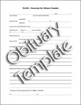 Newspaper Obituary Template Mccall Gardens Victoria Bc Obituary Template Submission