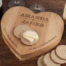personalised heart shaped wooden cheeseboard set intended for cheese board designs 10