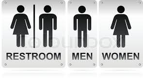 restroom signs. Exellent Restroom Restroom Signs Vector For Signs