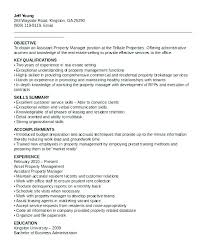 Assistant Property Manager Resume Assistant Property Manager Resume
