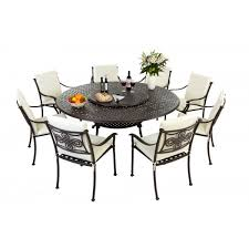 round patio table sets patio dining sets on two leveled metal round dining