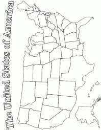 Small Picture Coloring Pages Map Of The United States Of America Coloring Page