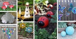 best garden art diy projects and ideas