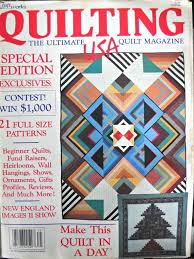 Quilting USA Magazine Vintage February 1987 Issue Quilt & Like this item? Adamdwight.com