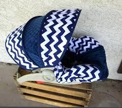 baby boy infant car seat navy chevron infant car seat cover
