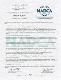 certified duct cleaners in utah salt lake city ut air duct certificate from nadca code of ethics