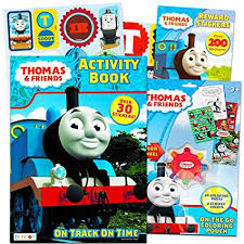 Thomas The Train Coloring And Activity Book Set With