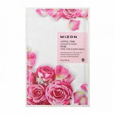 <b>Успокаивающая маска с</b> экстрактом розы, Mizon Joyful Time ...