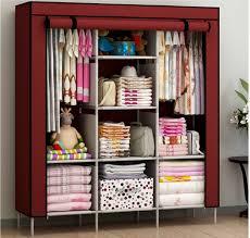 Small Picture New Portable Bedroom Furniture Clothes Wardrobe Closet Storage