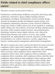 ... 16. Fields related to chief compliance officer ...