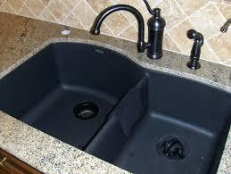 black composite sink cleaner ideas