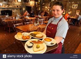 fort lauderdale ft florida cracker barrel restaurant w fort lauderdale ft florida cracker barrel restaurant w waitress employee uniform job serving tray plates