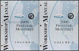 ford star mercury monterey wiring diagram manual original 2006 ford star mercury monterey original repair shop manual 2 vol set 144 00