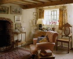 country cottage style living room. Image Detail For Country Cottage Sitting Room With Beamed Ceiling And Brick Fireplace Style Living