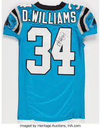 Lot Unwashed Auctions Signed Carolina Game Worn Heritage Williams Deangelo And 2006 42086