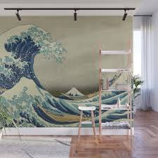 the classic japanese great wave off