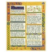 Desiderata Cross Stitch Chart I Finally Have This In My Grimey Little Hands Now To Work
