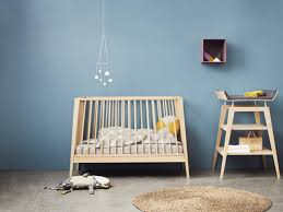 Linea Cot From Leander (via Design-milk.com) Stylish Baby Furniture DigsDigs