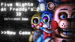 insane new fan made remake five nights at freddy s 2 3d you