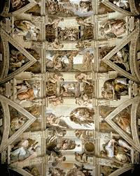 image for sistine chapel ceiling and lunettes