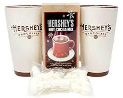 hersheys chocolate 2 mug ceramic gift