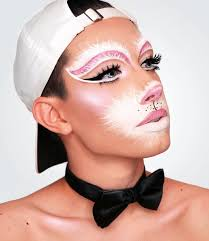 bunny makeup photo 1 wink and smile makeup easter bunny face