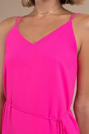 Neon Dresses Hot Pink Green Yellow Party Club Dresses Tobi