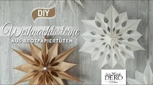 Diy Große Weihnachtssterne Aus Brotpapiertüten Deko Kitchen