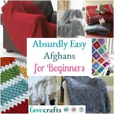 Easy Afghan Patterns Stunning 48 Absurdly Easy Afghans For Beginners FaveCrafts