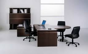 painted office furniture. Awesome Elegant Office Furniture Concept Applied Spacious Space Which Completed With Amazing Storage Painted Cool Brown I