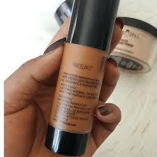 i review black opal true color foundation finishing powder oil blocking powder