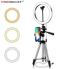 16/20/26CM <b>Photography Dimmable LED Selfie</b> Ring Light Youtube ...