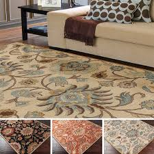marvelous area rugs 8x10 in hand tufted alameda traditional fl wool rug 9 x 12