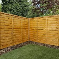 image to enlarge 5ft x 6ft waltons lap garden wooden fence panels