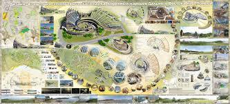 Дизайн концепция этнографического парка коренных народов дальнего  Дизайн концепция этнографического парка коренных народов дальнего Востока на острове Попова Дипломный проект специалиста дизайнера архитектурной среды