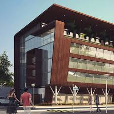 office exterior design. Architecture Commercial Mixeduse Office Residential Building Wood Glass Exterior Design S