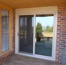 doors sliding patio screen doors sliding screen door with dog door gray floor black rug