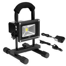 Battery Halogen Lights Le 10w Rechargeable Portable Led Work Light 60w Halogen