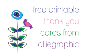 free download olliegraphic thank you cards jessika hepburn