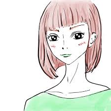 イラストでわかるバング前髪の種類一覧 ロング編 Lilouリル