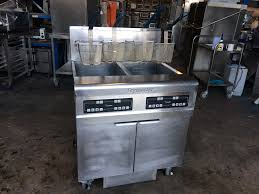 frymaster h55 high efficiency gas fryers used rational catering frymaster h55 high efficiency gas fryers