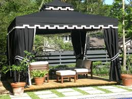 outdoor gazebo curtains sheers