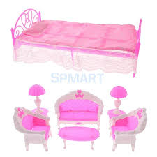 doll house furniture sets. 1:6 Dollhouse Furniture Set Sofa Chairs Lamps Tea Table +Bed With Bed Sheet Doll House Sets