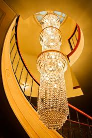 best long chandelier lighting long chandelier lights up the wall photograph kantilal patel